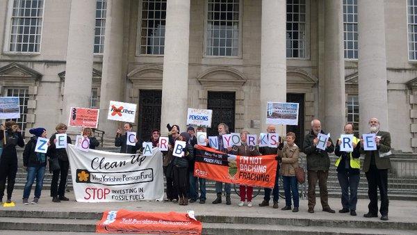 Fossil Free WYPF Leeds