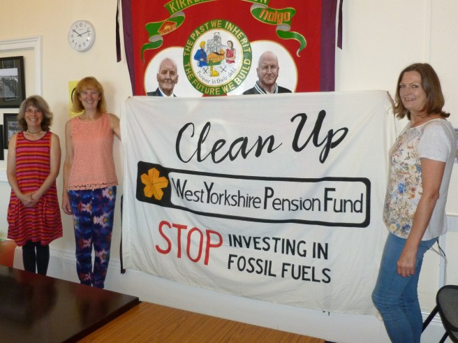 Kirklees Unison supporting divestment from fossil fuels