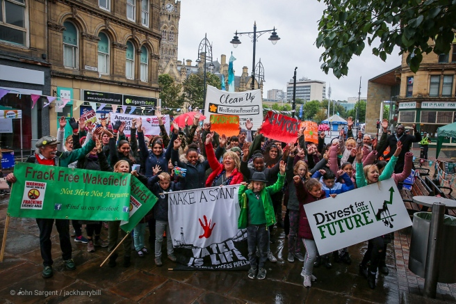 Rise for Climate Bradford 8 September 2018 - photo John Sargent